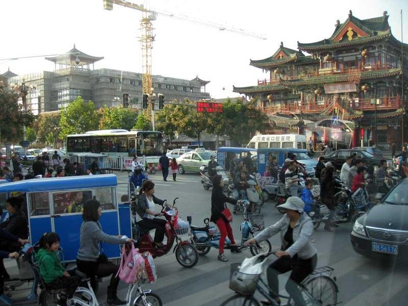 traffic-in-Zhengzhou