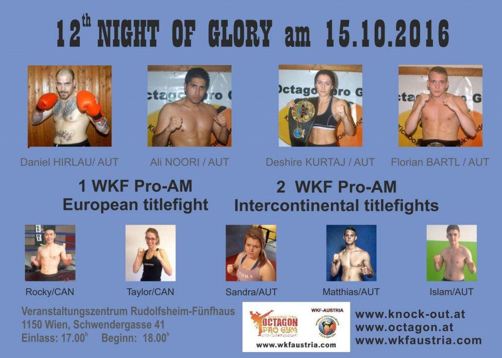 2016.10.15 Night of Glory, Vienna